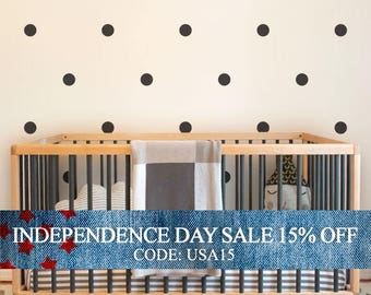 Independence Day Sale - Large Polka Dots
