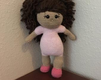 Amigurumi baby doll