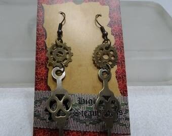 Clock Hands Earrings