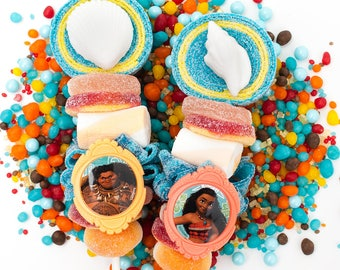 Moana themed Candy Kabobs - 12