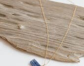 Kyanite Bar Necklace