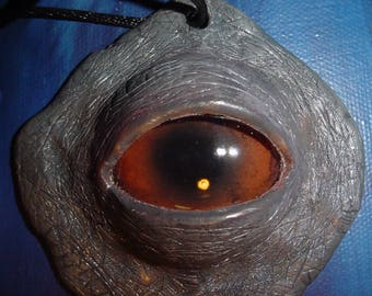 Original Elephant eye necklace pendant
