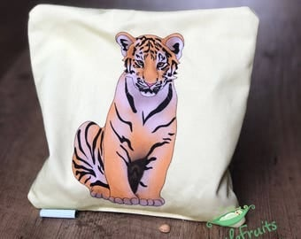 Baby Boy Gift - Tiger Cherry Pit Heating Pad - Let's Cuddle Cherry Pit Pillow - Cherry Pit Pack - Christmas Gift - Stocking Stuffer