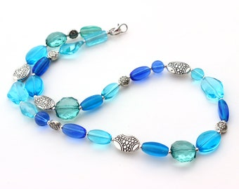 Sister Blue Necklace