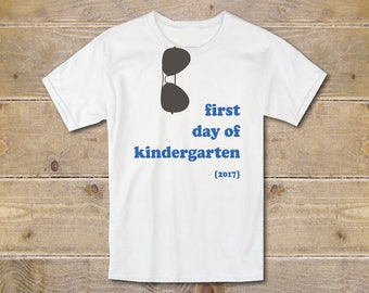 Kindergarten Shirt, First Day of Kindergarten Shirt, First Day of Kindergarten, Sign, First Day Clothes, Kindergartener, Kindergartner