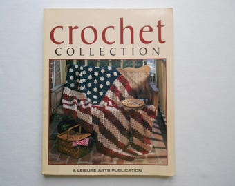 Leisure Arts - Crochet collection pattern book - instructions - assorted patterns
