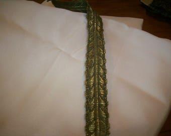 Antique gold metal trim