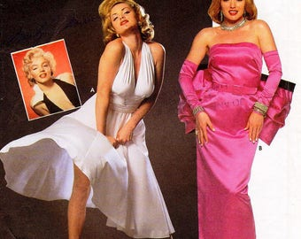 SZ 10/12/14 - Simplicity Costume Pattern 8393 - Misses' Marilyn Monroe and Norma Jeane Dresses/Costumes - Simplicity Patterns