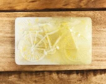 Daisy Chain Floral Bike Soap