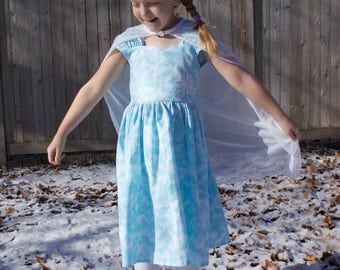 Disney Frozen Elsa Inspired Practical Princess Dress Up and Play Outfit