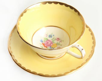 Collingwoods Bone China Tea Cup & Saucer ~ English Tea ~ Vintage Made in England China ~ Tea Party
