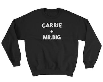 Carrie + Mr. Big Crew Neck Sweatshirt