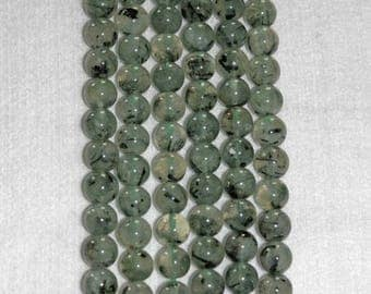 Prehnite Smooth Bead, Prehnite Bead, Gemstone, Natural Stone, Green Bead, Smooth Prehnite, Translucent Prehnite, Half Strand, 12mm