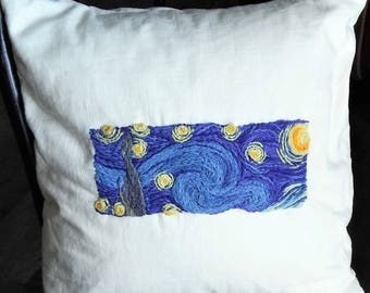 Crewel Embroidery Kit Starry Night