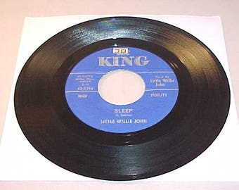 Little Willie John 45 Vinyl Record - Sleep / There's A Difference