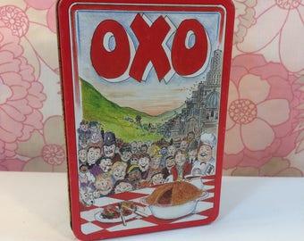 Vintage Oxo Tin Schools Graphic Design Award Winner 1992 Martin Sanders 48 Cubes