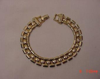 Vintage Goldette Bracelet  17 - 1291 M