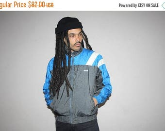 On SALE 35% Off - 1990s Descente Ski Apparel Hip Hop Colorblock Athletic Windbreaker - 90s Clothing - MV0103