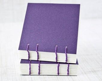Blank Art Journal Pocket Sketchbook 3x3 Inch Watercolor Sketchbook Mini Journal Watercolor Journal Mixed Media Journal Handbound Journal