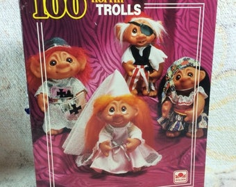 SUMMER SALE 1992 Norfin Trolls Puzzle Incomplete 9 pieces missing Treasure trolls
