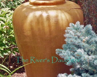 Clay Urn, Southwest Art, 5 x 7  Matted Photograph, Digital Art, Original Photograph