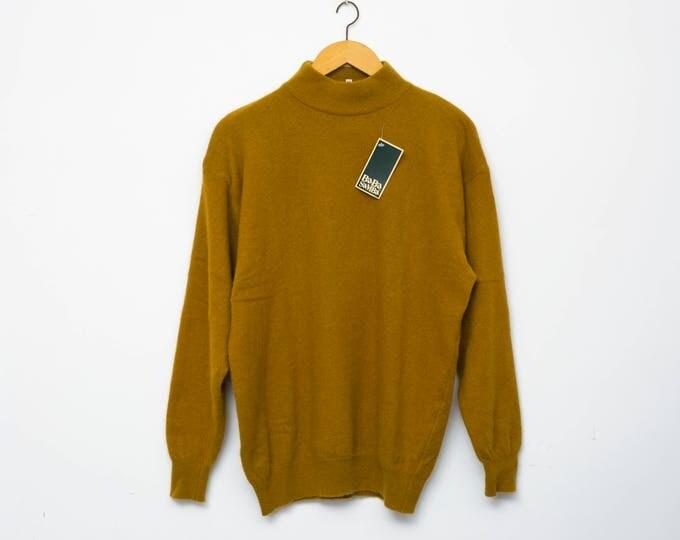 Sweater NOS vintage brown sweater