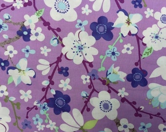 Good Fortune Kate Spain Sakura orchid moda fabrics FQ or more