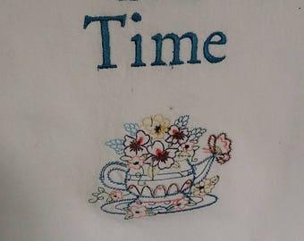 Torchon temps thé