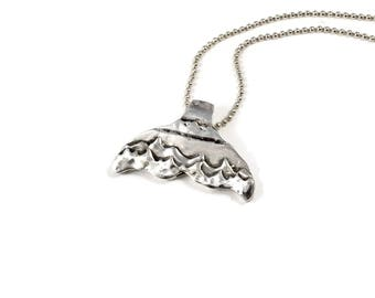 Whale Jewelry Gift, Ocean Jewelry For Women, Whale Necklace Gift, Sterling Whale Tail, Robin Wade Jewelry, Jewelry For Men And Women, 2565