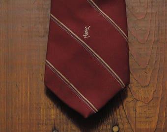 vintage Yves Saint Laurent neck tie