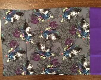 Snow White Witch travel pillow case/toddler pillow case 100% cotton