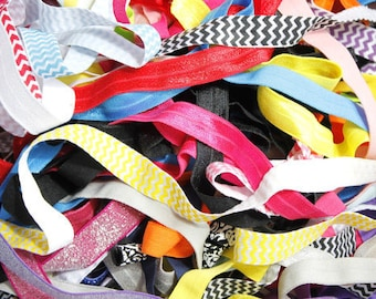 Fold Over Elastic Grab Bag - Hairbow Supplies, Etc.