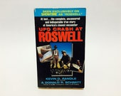 Vintage Non-Fiction Book UFO Crash At Roswell by Kevin D. Randle & Donald R. Schmitt 1991 Paperback