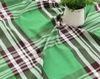 Yarn Dyed Plaid Tartan Cotton by the yard ( width 44 inches) 62109-1