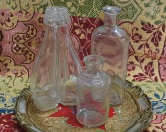 Old Bottles Lot of 3