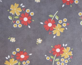 One Week Sale - 8.75  A Yard Flower Mill -  Stone Bloomy by Corey Yoder - 29031 13