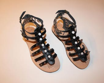 SALE!Black gladiators  SIZE 37
