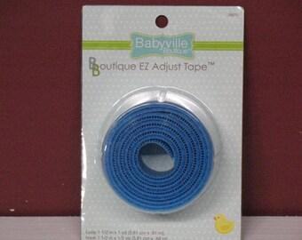 Babyville Boutique EZ Adjustable Blue Tape