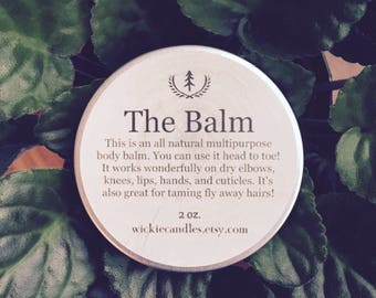 Sex on the Beach All Natural Multipurpose Scented Body Balm Salve