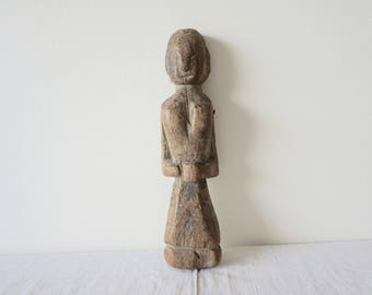 Wooden Doll Old Doll Female Doll