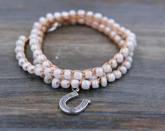 Horse Bracelet, Christmas Gift for Horse Lover, Horse Jewelry, Horse Lover Gift, Horse Lover Bracelet, Horse Shoe Charm Bracelet, Horse Gift