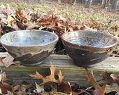 Two wood-fired bowls