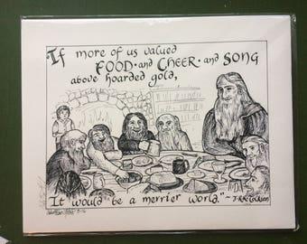 A Merrier World print (11x14)