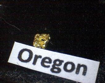 Gold nugget Oregon