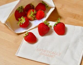 Reusable Snack Bag | Artistically Organic Basic Bag