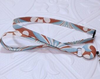 Retractable Badge Reel Breakaway Lanyard - Fabric Retractable Reel Lanyard - Fabric Id Badge Holder - Teachers Gift