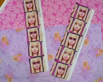 Barbie Fabrics, Barbie Bundle, Barbie Photos, Barbie Heads, Realistic Barbie, Cotton Fabrics, Mattel Doll