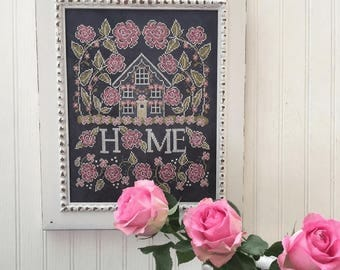 NEW Rose Cottage Sampler Summer #2 cross stitch patterns INCLUDES both designs by Hands on Design at thecottageneedle.com Chalk for the Home