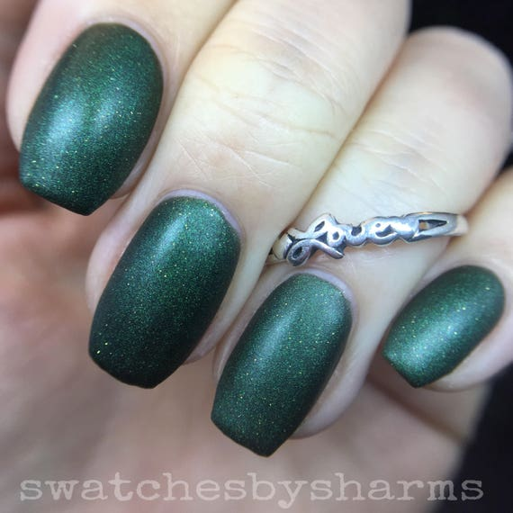 Space OddiTree matte holiday polish by Comet Vomit vegan
