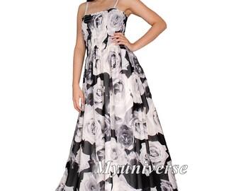 Black Maxi Dress Women Plus Sizes Clothing Long Floral Maternity Dress Casual Beach Party Wedding Guest Blue Chiffon Summer Sundress